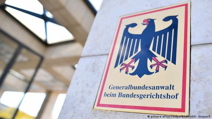 Deutschland | Bundesanwaltschaft in Karlsruhe (picture-alliance/dpa/Bildfunk/U. Anspach)