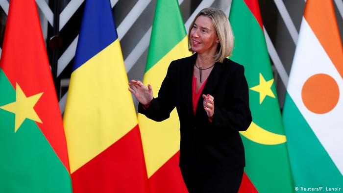 Belgien Brüssel EU Treffen mit G5 Sahel Staaten | Federica Mogherini