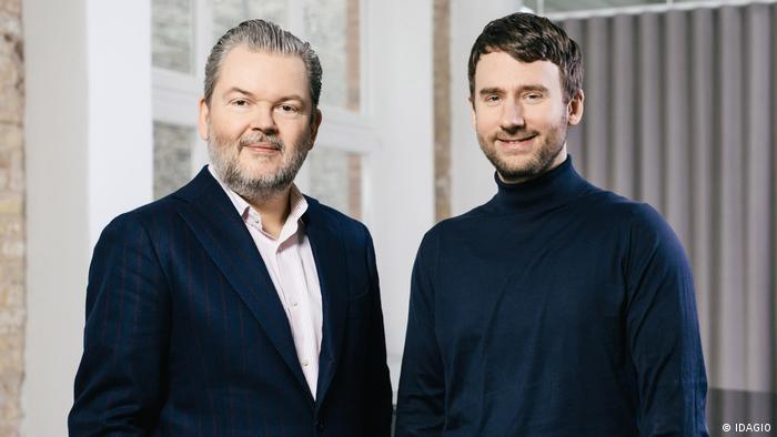 Idagio founders Till Janczukowicz (left) and Christoph Lange