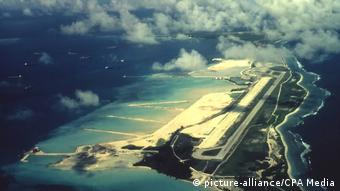 Insel Chagos | BIOT (British Indian Ocean Territory): Diego Garcia Base (picture-alliance/CPA Media)