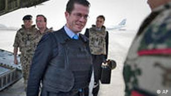 Guttenberg visiting with troops in Afghanistan