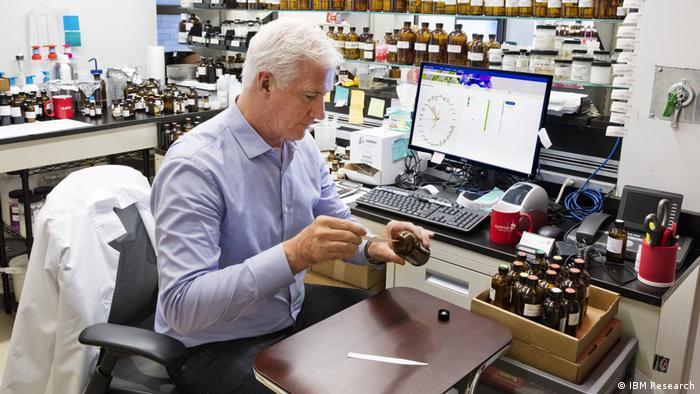 David Apel, Perfumer at the company Symrise