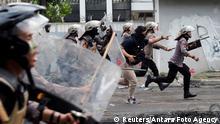 BdTD Jakarta Indonesien Protest