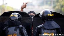 BdTD Indonesien Jakarta Protest