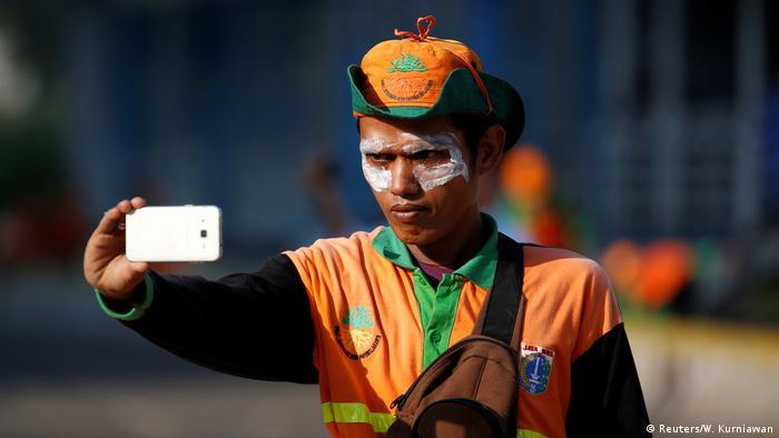 Jakarta Indonesien Proteste Wahlen (Reuters/W. Kurniawan)