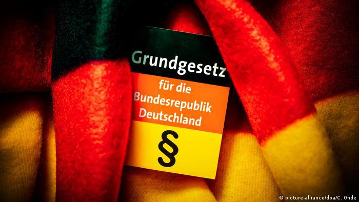 Deutschland 70 Jahre Grundgesetz