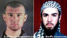 John Walker Lindh | USA | Terrorismus | American Taliban (AFP/Getty Images/Alexandria County Sheriff's Department)