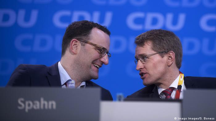 Jens Spahn and Daniel Guenther