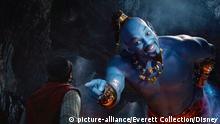 Film Aladdin mit Will Smith als Genie (picture-alliance/Everett Collection/Disney)