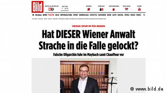 Screenshot der Website www.bild.de (www.bild.de)