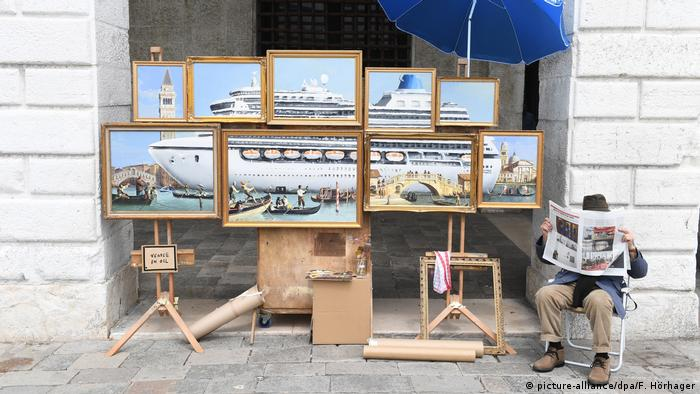 Banksy installation Venice in Oil