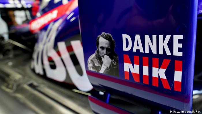 Formel Eins Grand Prix in Monaco Gedenken an Niki Lauda (Getty Images/P. Fox)