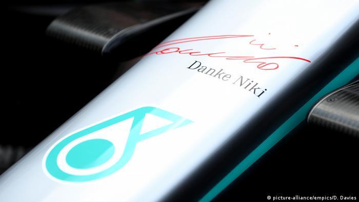 Formel Eins Grand Prix in Monaco Gedenken an Niki Lauda (picture-alliance/empics/D. Davies)