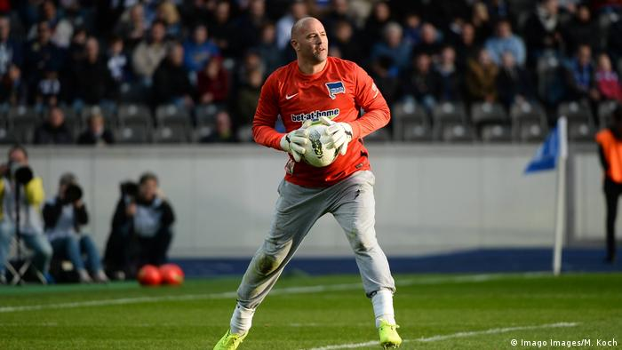 Gabor Kiraly playing for Hertha Berlin (Imago Images/M. Koch)