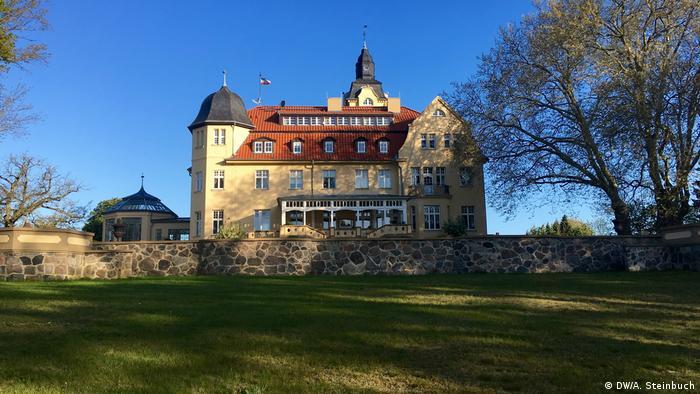 Deutschland Herrenhäuser in Mecklenburg-Vorpommern Schlosshotel Wendorf