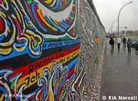 Останки бывшей Берлинской стены