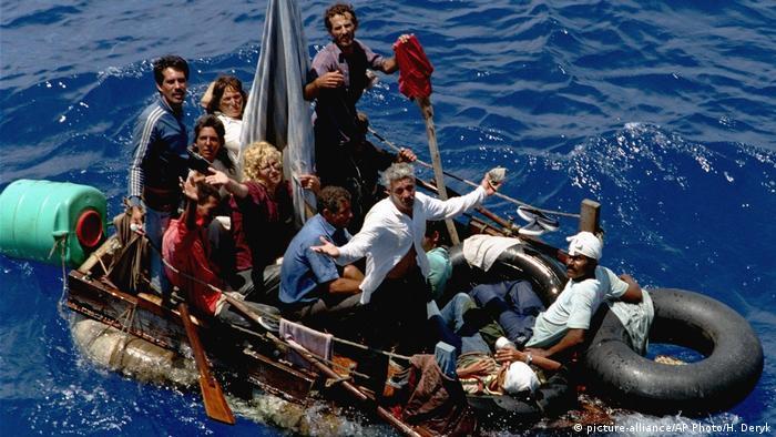 Kubanische Flüchtlinge 1994