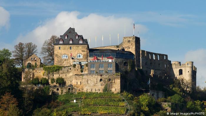 Burg Rheinfels St Goar Rheinland Pfalz