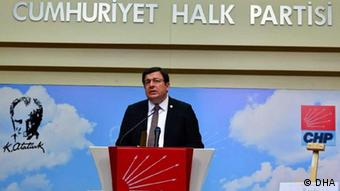 TBMM Anayasa Komisyonu'nun CHP'li üyesi Muharrem Erkek