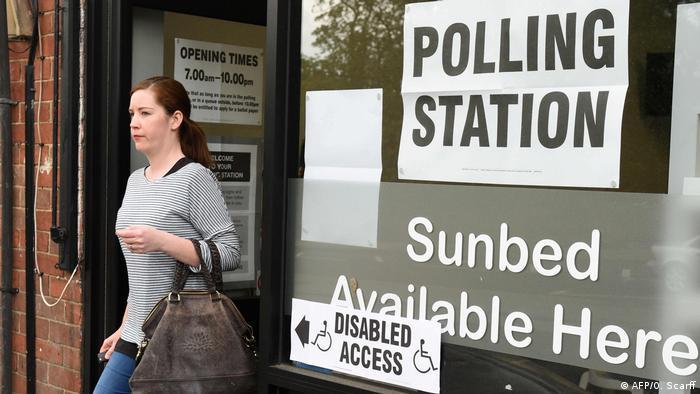 Großbritannien Europawahlen