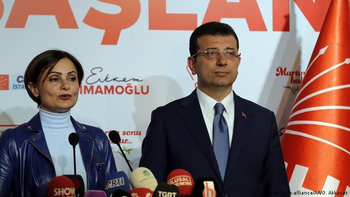 Canan Kaftancioglu i Ekrem Imamoglu