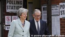 Großbritannien Europawahlen Theresa May