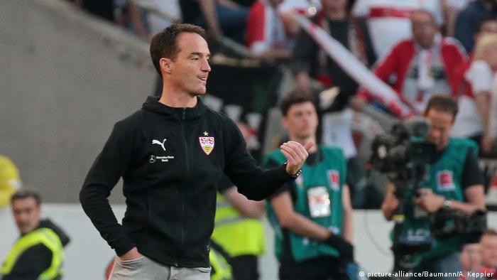 Fußball Relegation VfB Stuttgart vs. 1. FC Union Berlin Trainer Nico Willig