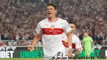 Fußball Relegation VfB Stuttgart vs. 1. FC Union Berlin Torjubel Gomez 2:1