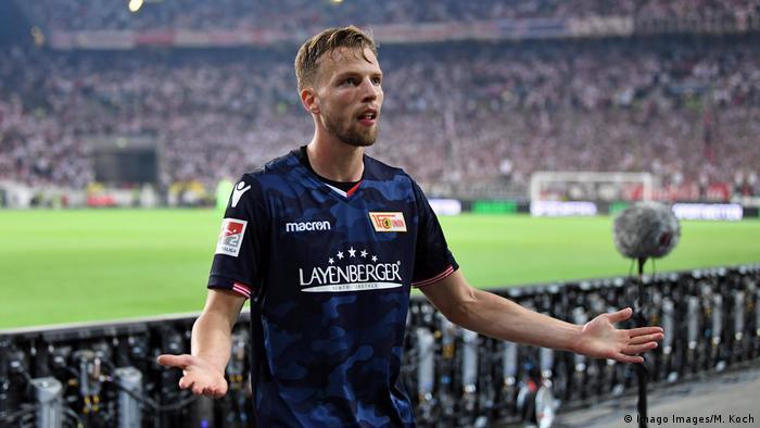 Fußball Relegation VfB Stuttgart vs. 1. FC Union Berlin 2:2 Torjubel Marvin Friedrich
