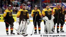 Eishockey WM-Viertelfinale Deutschland vs Tschechien 1:5 (Getty Images/M. Rose)