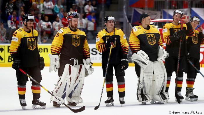 Eishockey WM-Viertelfinale Deutschland vs Tschechien 1:5