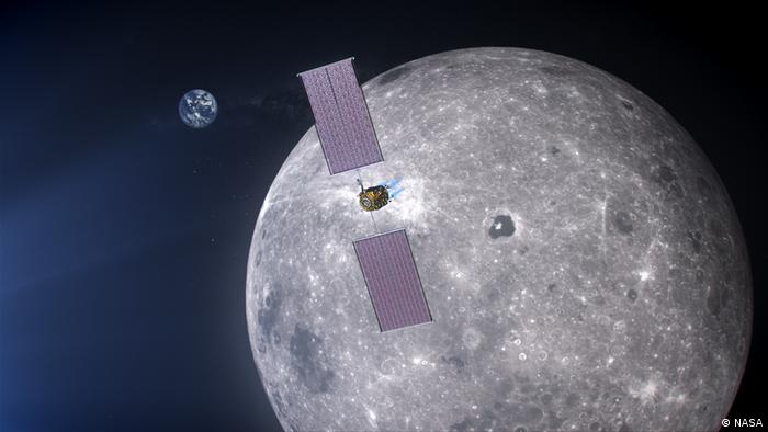 NASA Artemis orbiter