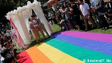 Taiwan Trauung Hochzeit gleichgeschlechtliche Paare