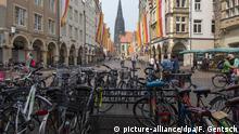 Deutschland Fahrräder in Münster