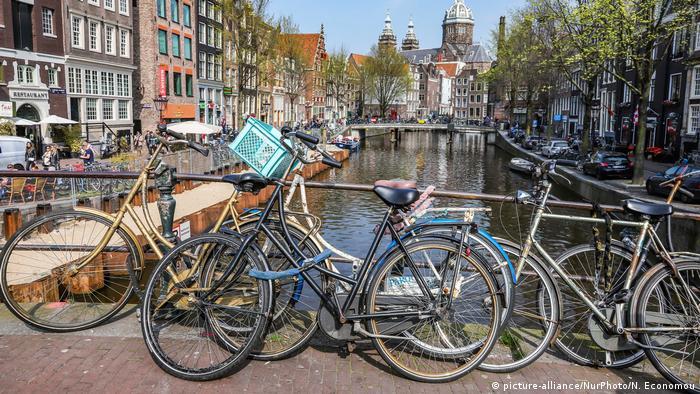 Който е ходил в Амстердам, знае кое превозно средство играе главната роля там