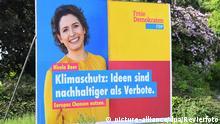 Wahlplakate zur Europawahl 2019
