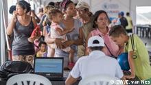 Kolumbien Maicao Auffanglager für Flüchtlinge