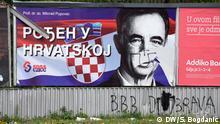 Kroatien Wahlplakat SDSS