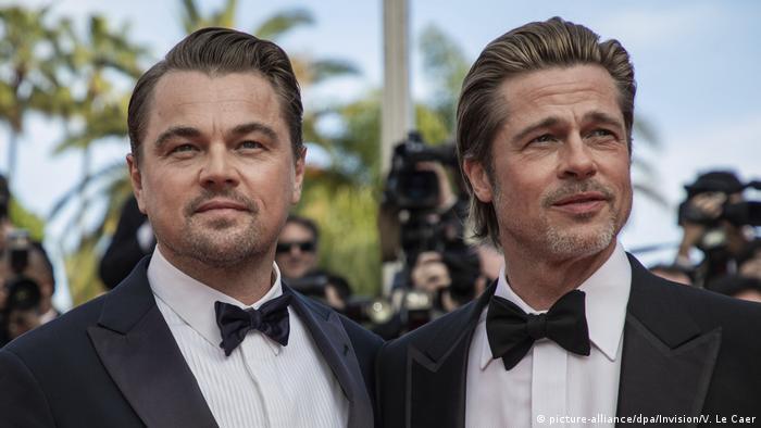 Cannes Filmfestival 2019 | Leonardo Di Caprio und Brad Pitt (picture-alliance/dpa/Invision/V. Le Caer)
