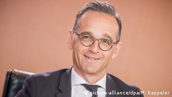 Deutschland Bundesaußenminister Heiko Maas (picture-alliance/dpa/M. Kappeler)