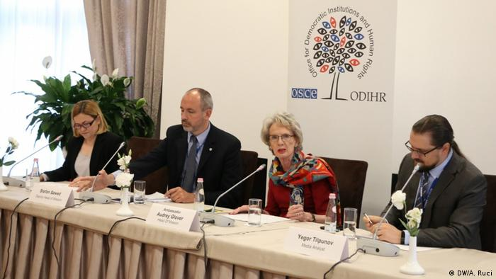 Albanien OSCE- ODIHR Wahlbeobachtung (DW/A. Ruci)