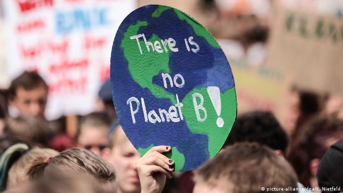 Плакат У нас нет запасной планеты!