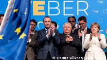 Deutschland Abschlusskundgebung der EVP, CDU und CSU zur Europawahl