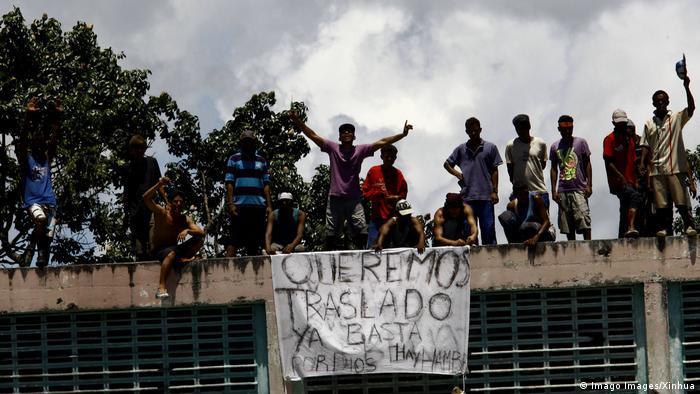 Venezuela Gewalt in Gefängnissen (Imago Images/Xinhua)