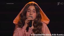 Screenshot Youtube The Voice Kids Russia Michella Abramowa