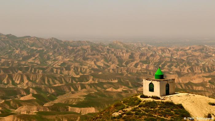 View of the Mausoleum of Khaled Nabi, Golestan Province, Iran (DW/F. Schlagwein)