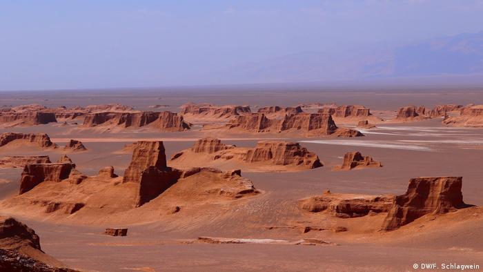 Pustinja Dašt-e Lut u Iranu