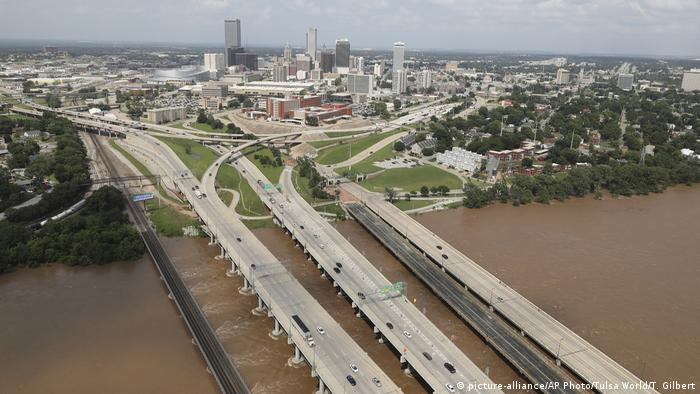 Flooding in Tulsa, Oklahoma