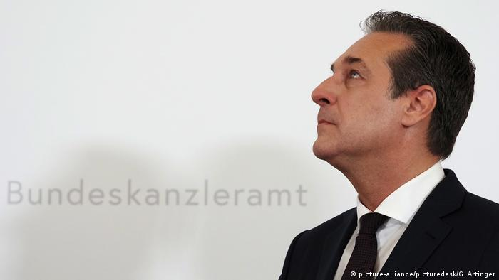 Heinz-Christian Strache (picture-alliance/picturedesk/G. Artinger)