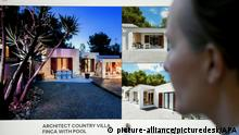 Villa in der das Ibiza Video gedreht worden sein soll (picture-alliance/picturedesk/APA)